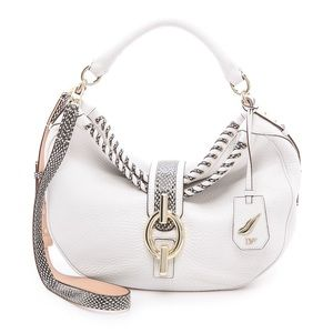 DVF Laced Leather Sutra Bag